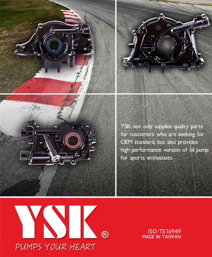 Oil Pump - High Performance | Probe Industrial (YSK branding) was